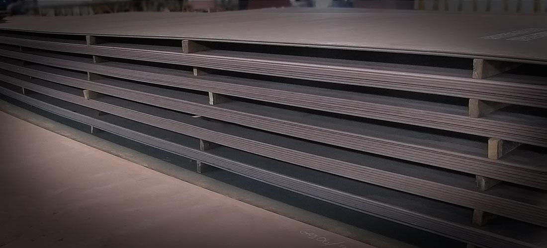 Hankkion Metallityö Oy - Teräslevyvarasto